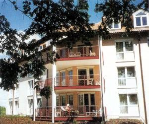 Neubau 1997 - Westseite des Gebäudekomplexes