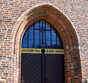 Crivitzer Kirche: Norddeutsche Backsteingotik