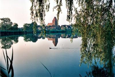 Idylle: Blick über den Crivitzer See