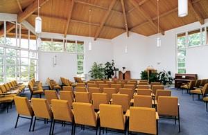 Der Gemeindesaal bzw. Mehrzweckraum
